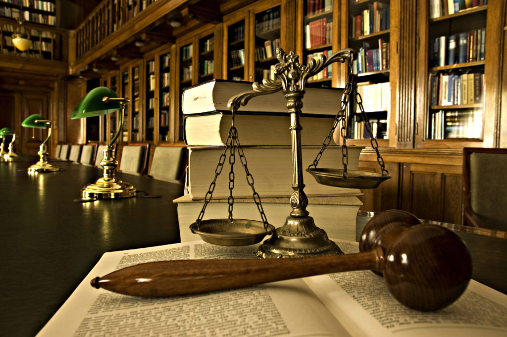 defining justice based on law and god